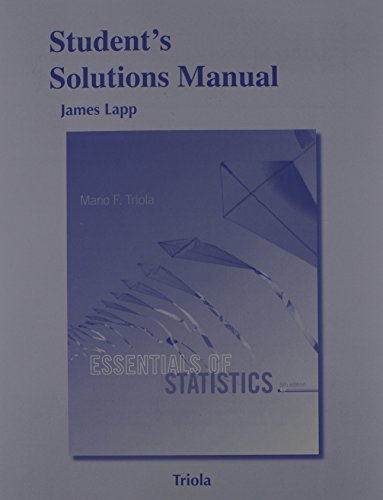 Fndfnsnsdnd students solutions manual for essentials of statistics fandeluxe Choice Image