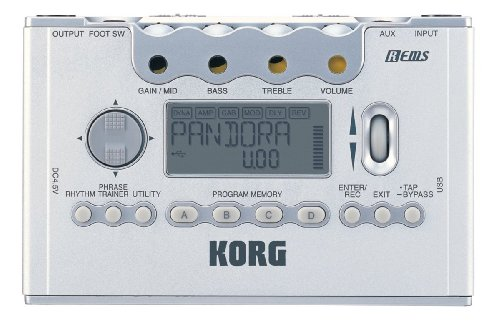 KORG PX5MODELING SIGNAL PROCESSOR FOR GUITAR AND
