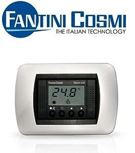 Termostato ambiente digitale da incasso fantini cosmi c44 for Termostati fantini cosmi prezzi
