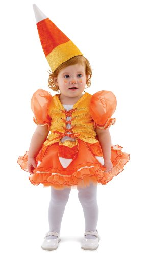 Candy Corn Princess Infant / Toddler Costume, X-Small (4)