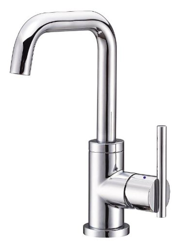 Danze D228558 Parma Trim Line Single Handle Lavatory Faucet with Hot and Cold Markings, Chrome