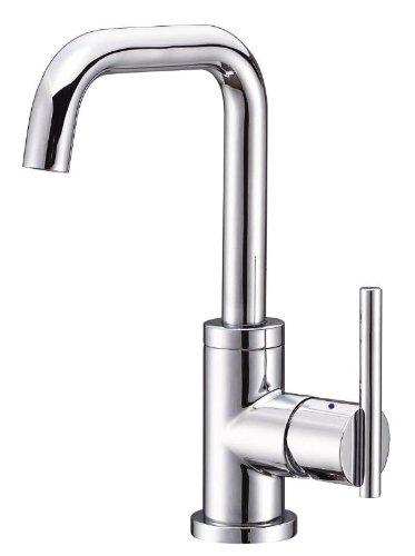 Danze D228558 Parma Trim Line Single Handle Lavatory Faucet with Hot and Cold Markings, Chrome