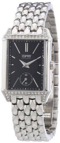 Esprit EL101992F07 - Reloj analógico de cuarzo para mujer con correa de acero inoxidable, color plateado