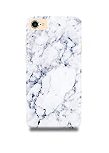White & Grey Marble iPhone 7 Case-2693