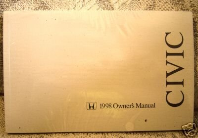 1998 Honda Civic Sedan Owners Manual (Kia Soul Owners Manual compare prices)