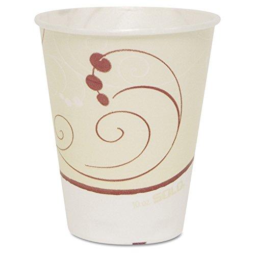 Symphony Trophy Plus Dual Temperature Cups, 10oz, 50/Sleeve, 6 Sleeves/Carton, Sold as 1 Carton