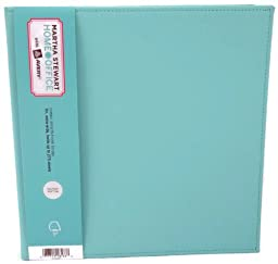 Martha Stewart Home Office with Avery Blue Shagreen Classic Smooth Finish Standard Binder, 1\