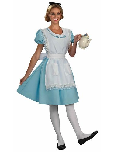 Womens Wonderland Alice Costume