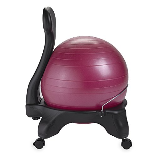 Gaiam Balance Ball Chair, Fuchsia
