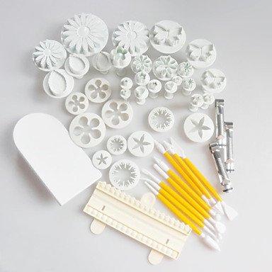 14 Set (46 Pcs) Sugar/Cake/Cookie Decorating Tools