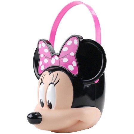 [Disney Minnie Mouse Halloween Candy Pail] (Costume Halloween Walmart)
