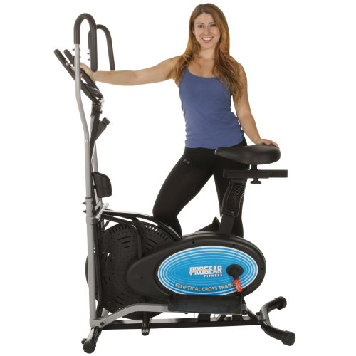 Discover Bargain ProGear 400LS 2 Dual Trainer Elliptical & Exercise Bike with Pulse Sensor