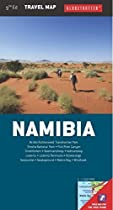 Namibia Travel Map (Globetrotter Travel Map)