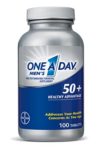 One A Day Men's 50+ Advantage Multivitamins, 100 Count (One A Day Energy Multivitamin compare prices)