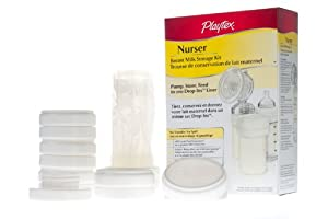 Playtex Drop-Ins System Breast Milk Storage Kit