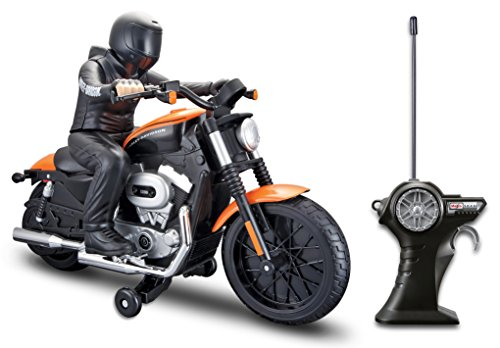 Maisto R/C Harley Davidson Xl 1200N Nightster With Rider Radio Control Vehicle (Radio Controlled Motorcycle compare prices)