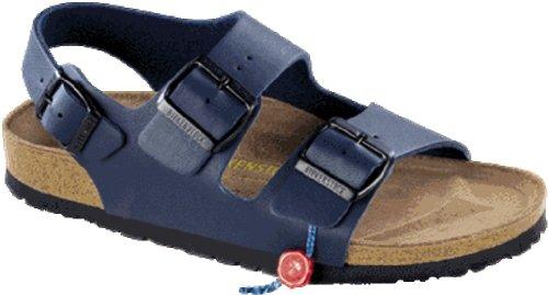 Birkenstock Milano Womens Blue Birko-Flor Sandals 44 Eu (11-11.5 N Us Men/13-13.5 N Us Women) front-966921