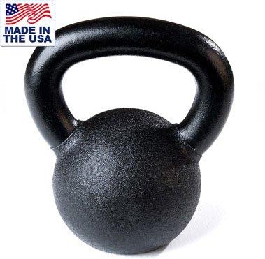 Cheap Hampton 30-50 lb Black Urethane Coated Kettlebell Set