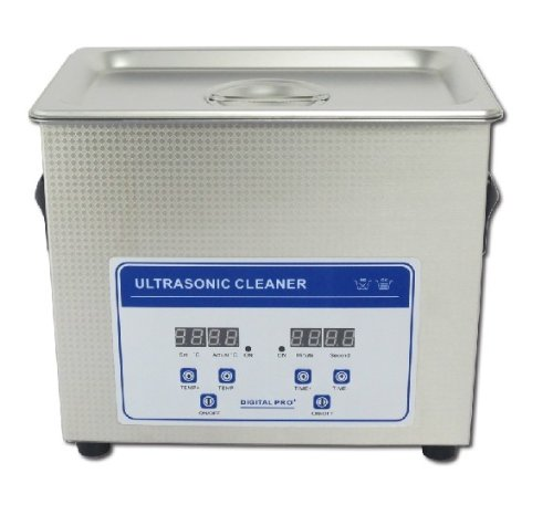120W/ 3.2L Digital Commercial Grade Lab Heating Ultrasonic Cleaner Eyeglasses Jewelry Cleaner 110V/220V With Cleaning Basket