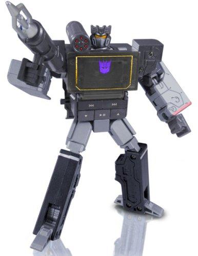 Takara G1 Transformers Soundwave MP3 Player Music Label (Black)