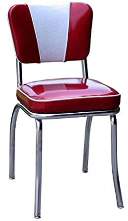 1950 39 s retro chrome diner chair made in usa industrial