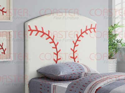 Twin Baseball Headboard