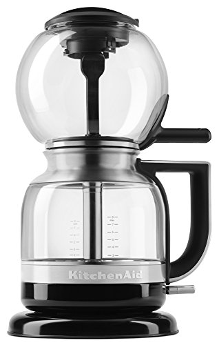 KitchenAid KCM0812OB Siphon Coffee Brewer, Onyx Black (Glass Siphon Coffee Maker compare prices)