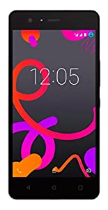 BQ Aquaris M5 - Smartphone de 5 pulgadas (4G, Wi-Fi, Bluetooth 4.0, Qualcomm Snapdragon 615 Octa Core A53 1,5 GHz, 16 GB de memoria interna, 3 GB de RAM, Android 5.0.2 Lollipop), color negro