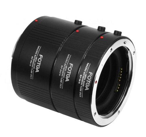 Allishere Fotga Metal Automatic Af Macro Extension Tube 13Mm + 20Mm + 36Mm Set For Canon Ef Ef-S