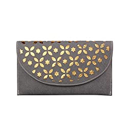 ZAP Grey Trendy Handbag Cum Sling Bag for Women-ZAPL001