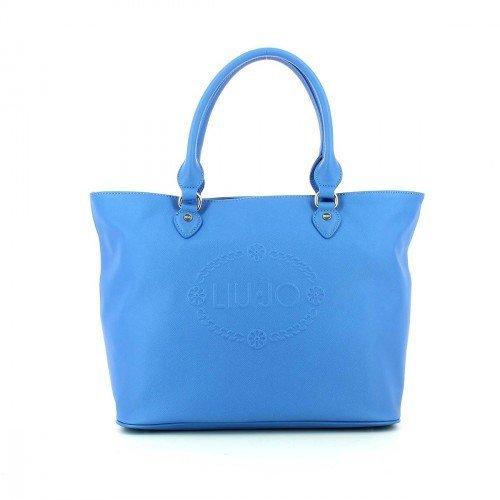 LIU JO CORALLO SHOPPING BAG - N16226E0140 94151 SKY DIVER
