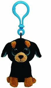 Amazon.com: Ty Beanie Boos Tuffy - Rottweiler Clip: Toys & Games