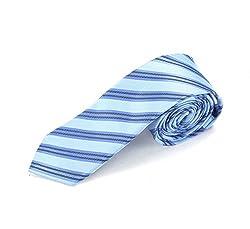 Chasquido Men's Tie (Blue_Free Size)