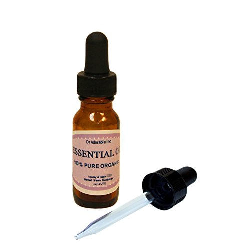 Catnip Essential Oil 100% Pure 0.6 Oz/18 Ml with Glass Dropper