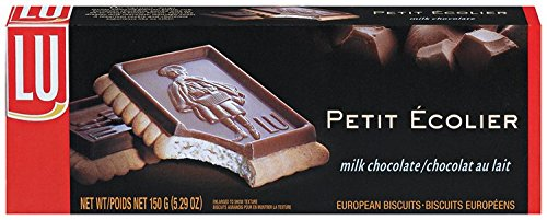LU Cookies Le Petit Ecolier, The Little Schoolboy, Milk Chocolate, 5.29-Ounce Boxes (Pack of 6) (Chocolate Biscuits compare prices)
