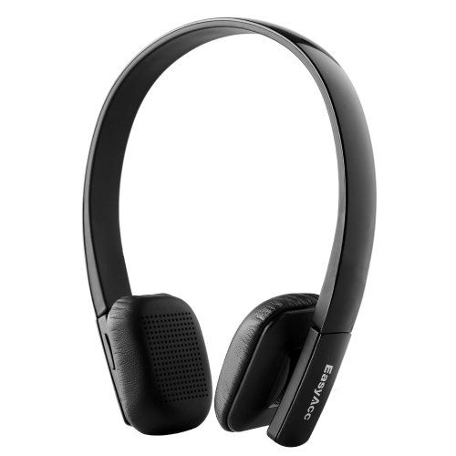 Easyacc® Wireless Bluetooth V3.0 Stereo Headset / Headphones With Microphone Hands Free For Iphone, Samsung And All Android(Iso, Windows Phone) Bluetooth Devices - Black
