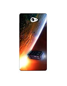 sony m2 ht003 (123) Mobile Case by Mott2 - Universe Box Building Amazing