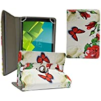 ECellStreet 360° Degree Rotating 7 Inch Flip Cover Diary Folio Case With Stand For Google Nexus 7 Tablet - Red...