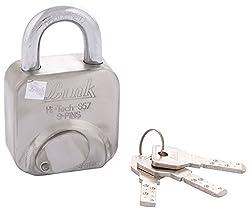 LINK Locks Stainless Steel Hi-Tech Lock S-57 (Silver)