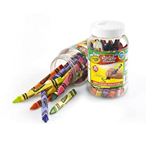 Crayola My First Crayola Triangular Crayons in Storage Container 30ct