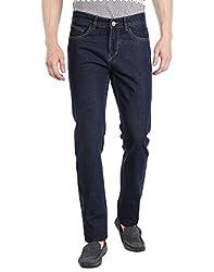 Fever Men's Jeans (60112-3-40_Dark Blue)