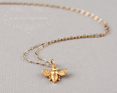 gold-bee-necklace-24k-vermeil-charm-14k-gold-fill-chain