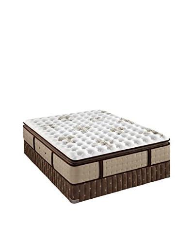 Stearns & Foster Estate Collection Luxury Firm Euro Pillow Top Mattress Set