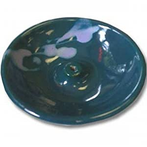 Blue Green Incense Burner - Wheel-shaped - 1 Box