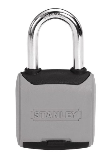 Stanley Hardware 828178 2-Inch And 50-Mm Combination Security Lock, 1-1/2 Shackle front-825387