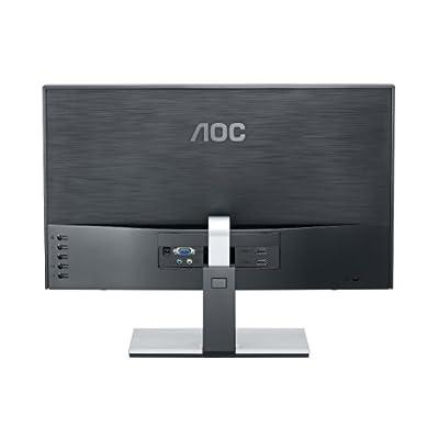 AOC D2367PH 23 inch 3D Widescreen IPS LED Multimedia Monitor (1920x1080, 6ms, VGA, 2 x HDMI, i-Menu, e-Saver,...