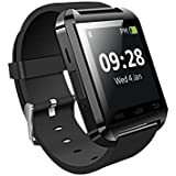 JYARA Bluetooth Smart Watch Phone Wrist Watch Phone With Activity Trackers || Fitness Band ||Sleep Monitor ||Pedometer Compatible With GFive G5 Projector