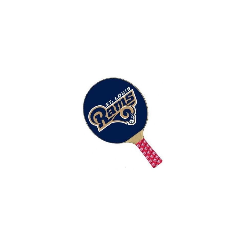 St Louis Rams NFL Table Tennis Ping Pong Paddles on PopScreen 18bb2e627
