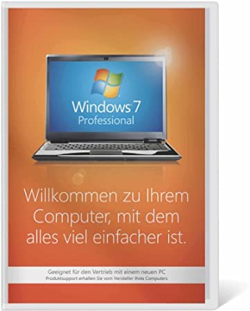Windows 7 Professional 32 Bit OEM [Alte Version]