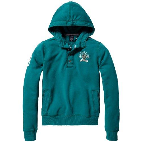 Hilfiger Denim Men's Jani Hd Hknit L/S / 1957818976 Sweatshirt Green (307 Ivy) 46